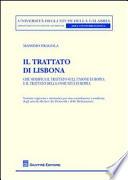 Il Trattato di Lisbona