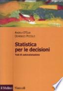 Statistica per le decisioni. Test di autovalutazione