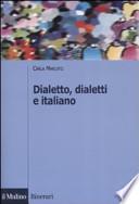 Dialetto, dialetti e italiano