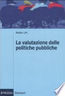 La valutazione delle politiche pubbliche