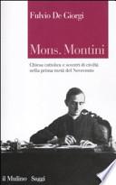 Mons. Montini Chiesa cattolica e scontri di civiltà nella prima metà del Novecento