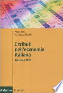 I tributi nell'economia italiana - edizione 2012
