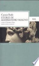 STORIE DI ALESSANDRO MAGNO