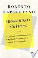 promemoria italiano