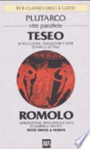 TESEO E ROMOLO - VITE PARALLELE