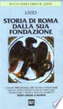 STORIA DI ROMA DALLA SUA FONDAZIONE