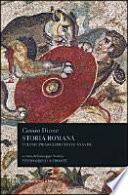 STORIA ROMANA I (LIBRI XXXVI-XXXVIII)