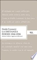 DISTANZA  POESIE 1946-1996