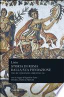STORIA DI ROMA XI (LIBRI XXXIX-XL)
