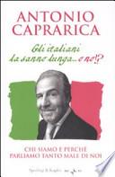 gli italiani la sanno lunga...o no?