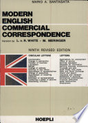 Modern English Commercial Correspondence