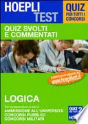 Hoepli Test Quiz svolti e commentati LOGICA