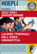 Test per i saperi minimi Lauree triennali dell'area umanistica. 2000 Quiz