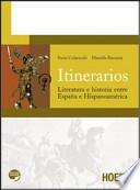 Itinerarios: literatura e historia entre Espana e Hispanoamérica