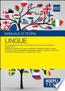 Lingue - Manuale di teoria