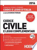 CODICE CIVILE 2016