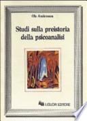 Studi sulla preistoria della psicoanalisi