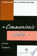 communionis notio