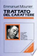 TRATTATO DEL CARATTERE (CARATTEROLOGIA)