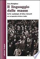 Il linguaggio delle masse. Sulla sociologia di Elias Canett