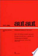 AUT AUT (no. 305-306, settembre-dicembre 2001)