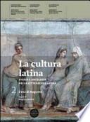 La cultura latina volume 1