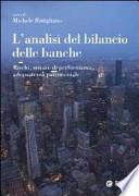 L'ANALISI DEL BILANCIO DELLE BANCHE
