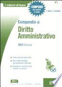 Compendio di diritto amministrativo XXIII ed.
