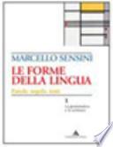 FORME DELLA LINGUA (LE) LA GRAMMATICA E LA SCRITTURA+IL LESSICO