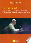 «Christus vivit». Exhortación apostólica postsinodal a los jóvenes y a todo el pueblo de Dios