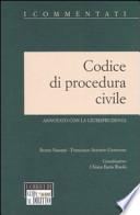 CODICE DI PROCEDURA CIVILE - annotato con la giurisprudenza