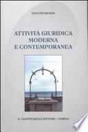 attività moderna e contemporanea