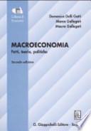 Macroeconomia. Fatti, teorie, politiche
