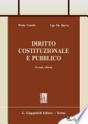 Diritto Costituzionale e Pubblico, seconda edizione