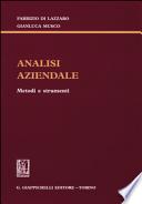 Analisi Aziendale - Metodi e strumenti