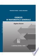 Esercizi di matematica generale Algebra lineare