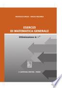 Esercizi di matematica generale Ottimizzazione in R²