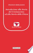 introduzione alla storia del cristianesimo ed  alla storia della chiesa