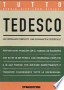 Tutto Tedesco - Dizionario completo, Grammatica essenziale