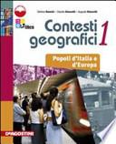 Contesti geografici Vol. 1: Popoli d'Italia e d'Europa + atlante + cd rom
