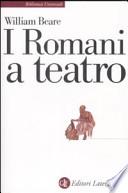 i romani a teatro