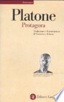 Protagora . Testo greco a fronte