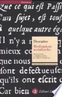 Meditazioni metafisiche . Testo latino a fronte