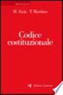 Codice costituzionale.