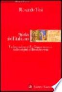 Storia dell'italiano, la formazione della lingua comune dalle origini al Rinascimento