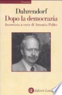Dopo la democrazia