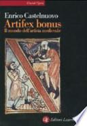 Artifex bonus il mondo dell'artista medievale
