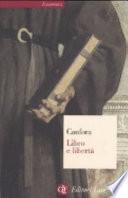LIBRO E LIBERTA'