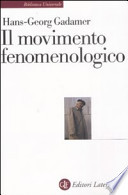 Il movimento fenomenologico