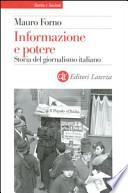Informazione e potere storia del giornalismo italiano